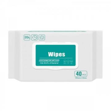 OEM Factory FDA SGS Baby Wet Wipes with Lid