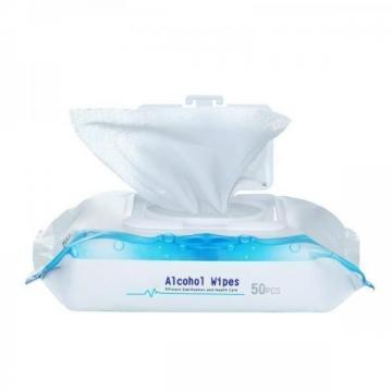 Wholesale Spunlace Disposable Cleaning Alcohol free baby wipes