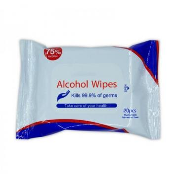 rose scent alcohol free wet wipes for one time use