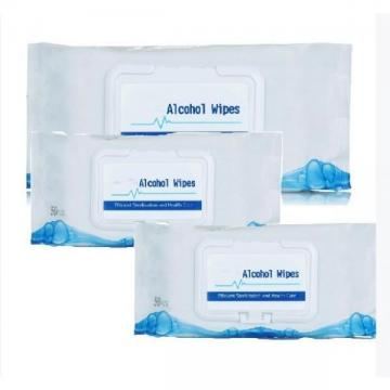 30PCS Antibacterial Wet Wipes in Can Tub/Barrel Alcohol Wipes Surface and Hand Cleaning Disinfectant Wipes