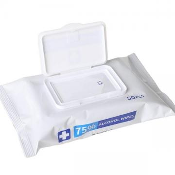 75% alcohol cleaning wet wipes 10pcs/bag high quality wipes with competitive price