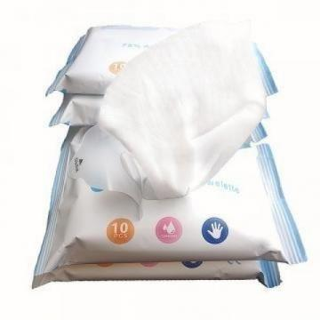 Customized Cheap Non Alcohol Soft Cleaning Wet Wipe for Baby Made of Non-Woven Fabric