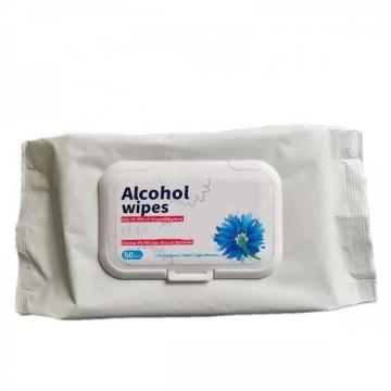 75% alcohol wipes with 80 wet wipes for hands cleaning and sanitizing