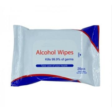 40PCS Hand 75% Alcohol Wet Wipes/Anti Bacterial Wet Wipes/Sanitizing Wet Wipes