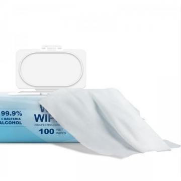 Ce FDA Spunlace Material Anti-Bacteria Isopropyl Alcohol Wipes in Can Without Fragrance