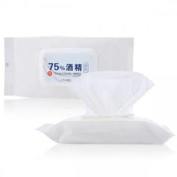 Fast Shipment Kill 99.9% Bacteria Unscented Disinfection Isopropyl Wipes
