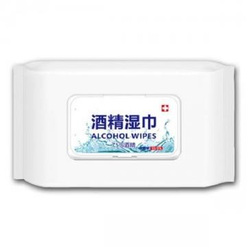 Medical Grade 70 Alcohol Antibacterial Desinfect Hand Sanitizer Wet Wipe CE Logo with Alcohol in Bulk