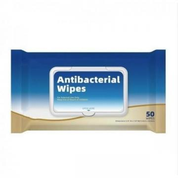 Antibacterial Sanitizing Cleansing Wipes Without Alcohol