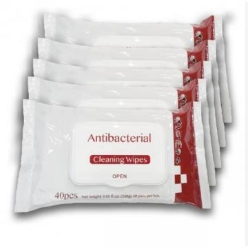 Anti Bacterial 75% Alcohol Antibacterial Hand Sanitizing Disinfectant Wet Wipes