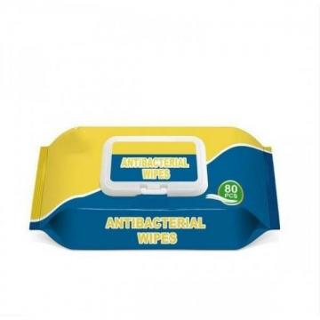 Antibacterial Multi Purpose Pouch Wet Wipe 15PCS Made in Korea Without Alcohol