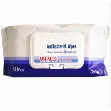 Hot Sell Top Quality Barrel Package 80PCS 100PCS Sanitizer Antibacterial Disinfectant Hand Cleaning Alcohol Wet Wipe for Baby Adult Family Wet Wipes