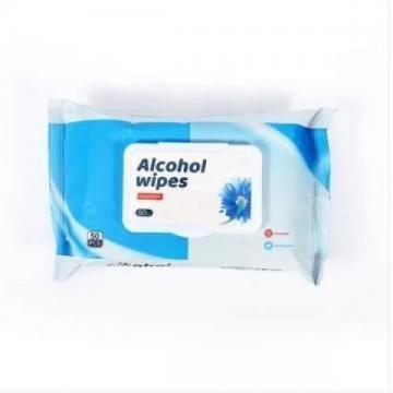 portable 75% ethanol Wet Wipes Clean Unscented