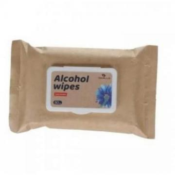 Wholesale cheap price alcoholic antiseptic disinfectant wet wipes 75%alcohol for hand 75% isopropyl