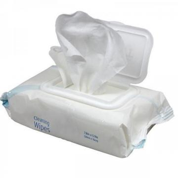 Industrial cleaning wipes with alcohol