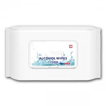 75% alcohol household cleaning wet wiper