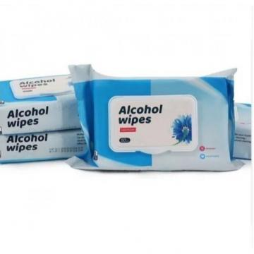 Private Label Wipe Factory Price Competitive 75% alcohol wet wipes Antibacterial alcohol wet wipes