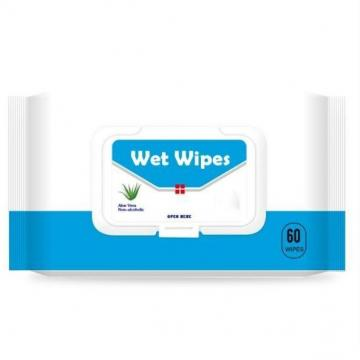 Wholesale price 75% alcohol cleaning 10pcs alcohol disinfectant wet wipes