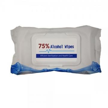 Hot Sale Disposable Isopropyl Alcohol Customized Single Portable Wet Wipe