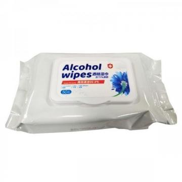 Surface Cleaning Antibacterial Alcohol Industrial Wet Wipes