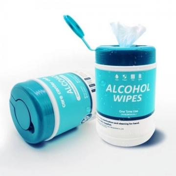 Private Label 75% Alcohol Medical Sterile Wet Wipes